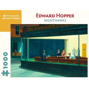 "Pomegranate (aa1082) - Edward Hopper: ""Nighthawks"" - 1000 pièces"