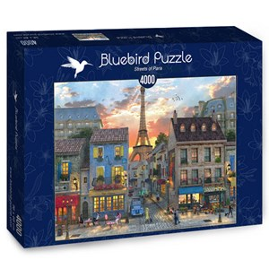 "Bluebird Puzzle (70253) - Dominic Davison: ""Streets of Paris"" - 4000 pièces"