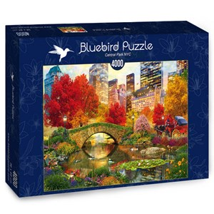 "Bluebird Puzzle (70256) - David McLean: ""Central Park NYC"" - 4000 pièces"