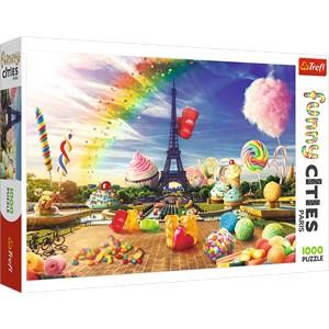 """Trefl (10597) - """"Sweet Paris"""" - 1000 pièces"""
