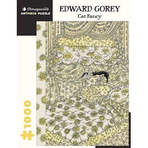 "Pomegranate (aa1068) - Edward Gorey: ""Cat Fancy"" - 1000 pièces"
