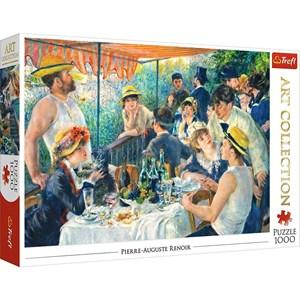 """Trefl (10499) - Pierre-Auguste Renoir: """"Le Déjeuner des Canotiers"""" - 1000 pièces"""
