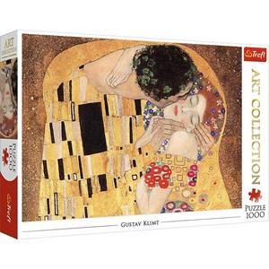 """Trefl (10559) - Gustav Klimt: """"The Kiss"""" - 1000 pièces"""