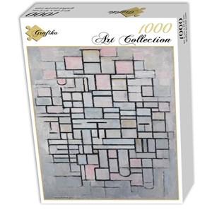 "Grafika (01178) - Piet Mondrian: ""Composition No.IV, 1914"" - 1000 pièces"