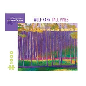 "Pomegranate (aa1037) - Wolf Kahn: ""Tall Pines, 1999"" - 1000 pièces"