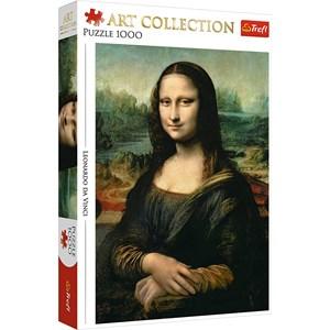 """Trefl (10542) - Leonardo Da Vinci: """"La Joconde"""" - 1000 pièces"""
