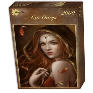 "Grafika (00987) - Cris Ortega: ""Red Path of Eternity"" - 2000 pièces"