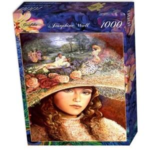 "Grafika (01104) - Josephine Wall: ""Grandmother's Hat"" - 1000 pièces"
