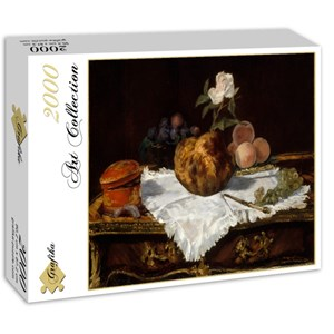 "Grafika (01126) - Edouard Manet: ""La Brioche, 1870"" - 2000 pièces"