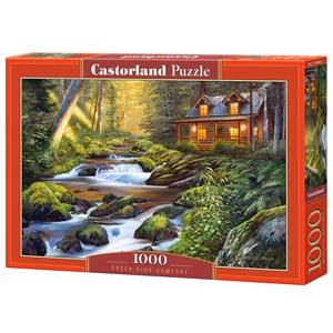 "Castorland (C-104635) - ""Creek Side Comfort"" - 1000 pièces"