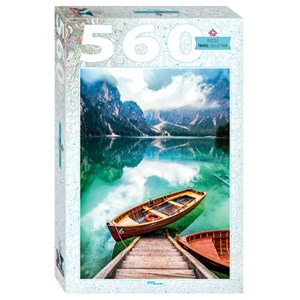 "Step Puzzle (78108) - ""Lake Prags in South Tyrol, Italy"" - 560 pièces"