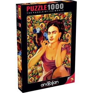 "Anatolian (1071) - Serhat Filiz: ""Frida Kahlo"" - 1000 pièces"
