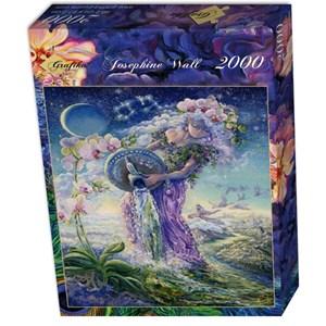 "Grafika (00810) - Josephine Wall: ""Verseau"" - 2000 pièces"