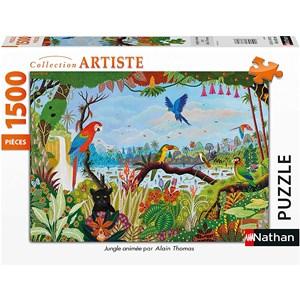 """Nathan (87799) - """"Jungle Animée"""" - 1500 pièces"""