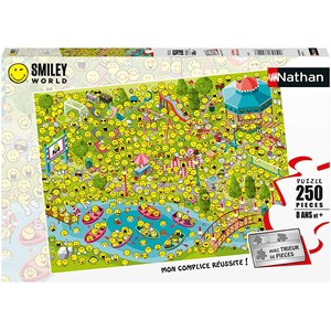 "Nathan (86877) - ""Smileys"" - 250 pièces"
