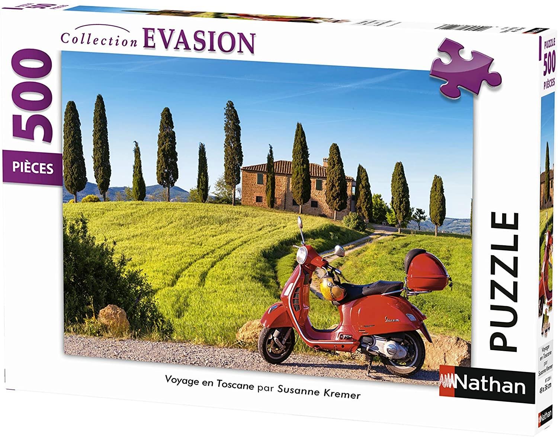 Nathan 87206 Puzzle vers Le Domaine des Dieux Ast/érix 500 pi/èces