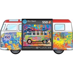 """Eurographics (8551-5561) - """"VW Wave Hopper"""" - 550 pièces"""