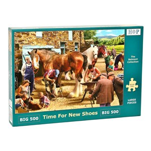 """The House of Puzzles (4579) - """"Time For New Shoes"""" - 500 pièces"""
