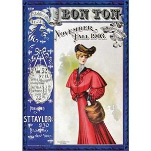 """Piatnik (5525) - """"Bon Ton Magazine Cover 1903"""" - 1000 pièces"""