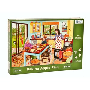 """The House of Puzzles (4616) - """"Baking Apple Pie"""" - 1000 pièces"""