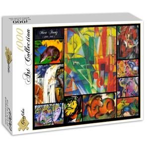 "Grafika (00855) - Franz Marc: ""Collage"" - 1000 pièces"