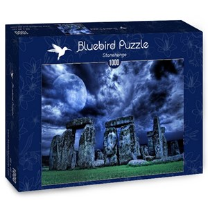 "Bluebird Puzzle (70033) - ""Stonehenge"" - 1000 pièces"