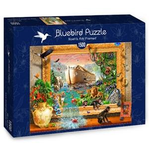 "Bluebird Puzzle (70140) - Adrian Chesterman: ""Noah's Ark Framed"" - 1500 pièces"