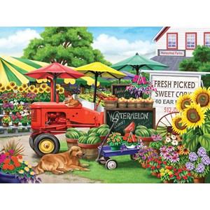 "SunsOut (63016) - Nancy Wernersbach: ""Farm Stand Bounty"" - 300 pièces"