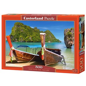"""Castorland (53551) - """"Khao Phing Kan"""" - 500 pièces"""