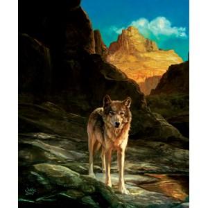 "SunsOut (43031) - Julie Bell: ""Lone Wolf"" - 1000 pièces"
