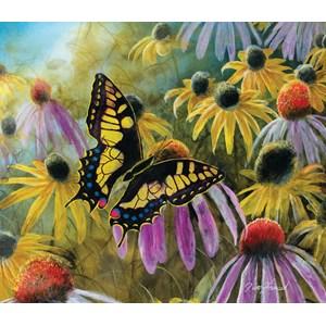"""SunsOut (67322) - Jim Hansel: """"Swallowtail Vistor"""" - 550 pièces"""
