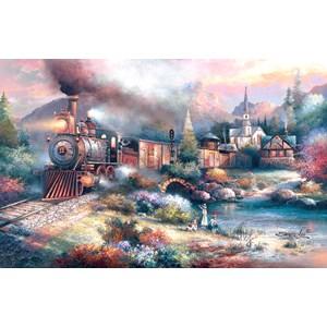 "SunsOut (18014) - James Lee: ""Maryland Mountain Express"" - 1000 pièces"