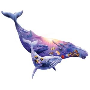 """SunsOut (90348) - Steve Sundram: """"Humpback Whale"""" - 1000 pièces"""