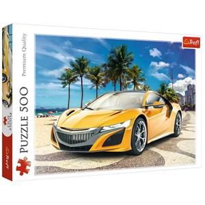 "Trefl (37381) - ""Summer Adventure Car"" - 500 pièces"