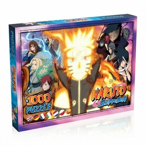 """Winning Moves Games (38423) - """"Naruto"""" - 1000 pièces"""