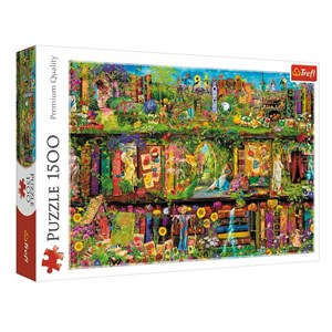 "Trefl (26165) - ""Fairy Bookcase"" - 1500 pièces"