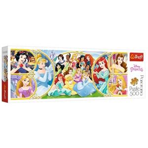 """Trefl (29514) - """"Disney Princess"""" - 500 pièces"""