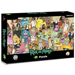 "Winning Moves Games (39703) - ""Rick and Morty"" - 1000 pièces"