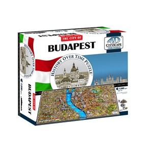 """4D Cityscape (40088) - """"4D Budapest"""" - 1200 pièces"""