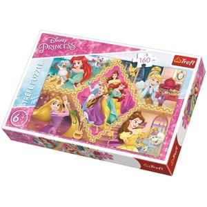 """Trefl (15358) - """"Disney Princess"""" - 160 pièces"""