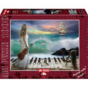 """Art Puzzle (4468) - """"Sea Symphony"""" - 1000 pièces"""