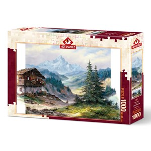 """Art Puzzle (5187) - """"Green Valley"""" - 1000 pièces"""
