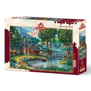 """Art Puzzle (4223) - """"Fairytale House"""" - 1000 pièces"""