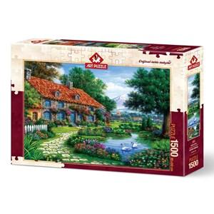 """Art Puzzle (4551) - """"Le Jardin"""" - 1500 pièces"""