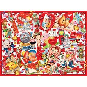 "SunsOut (35147) - Lori Schory: ""Valentine Card Collage"" - 300 pièces"