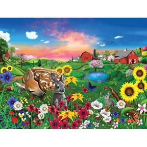 "SunsOut (60940) - Gerald Newton: ""Peaceful Pastures"" - 300 pièces"