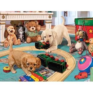 "SunsOut (60905) - Steve Read: ""Puppies Playtime"" - 300 pièces"