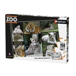 """Nathan (86838) - """"Une Saison au Zoo"""" - 150 pièces"""