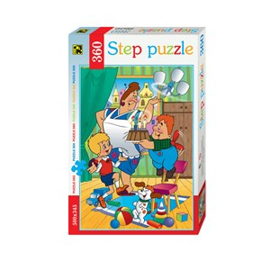 "Step Puzzle (73005) - ""Karlsson-on-the-Roof"" - 360 pièces"