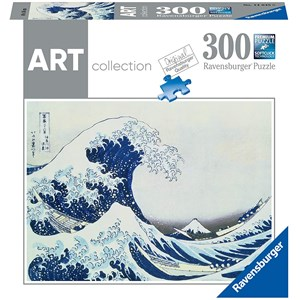 """Ravensburger (14845) - Hokusai: """"La Grande Vague"""" - 300 pièces"""